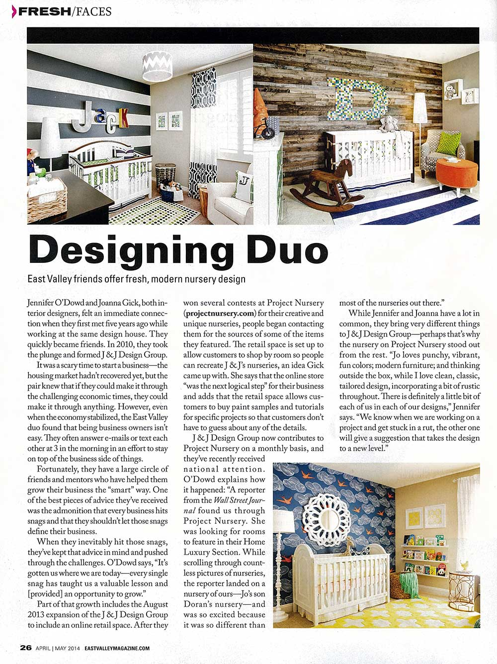 J and J Design Group - East Valley Magazine Press