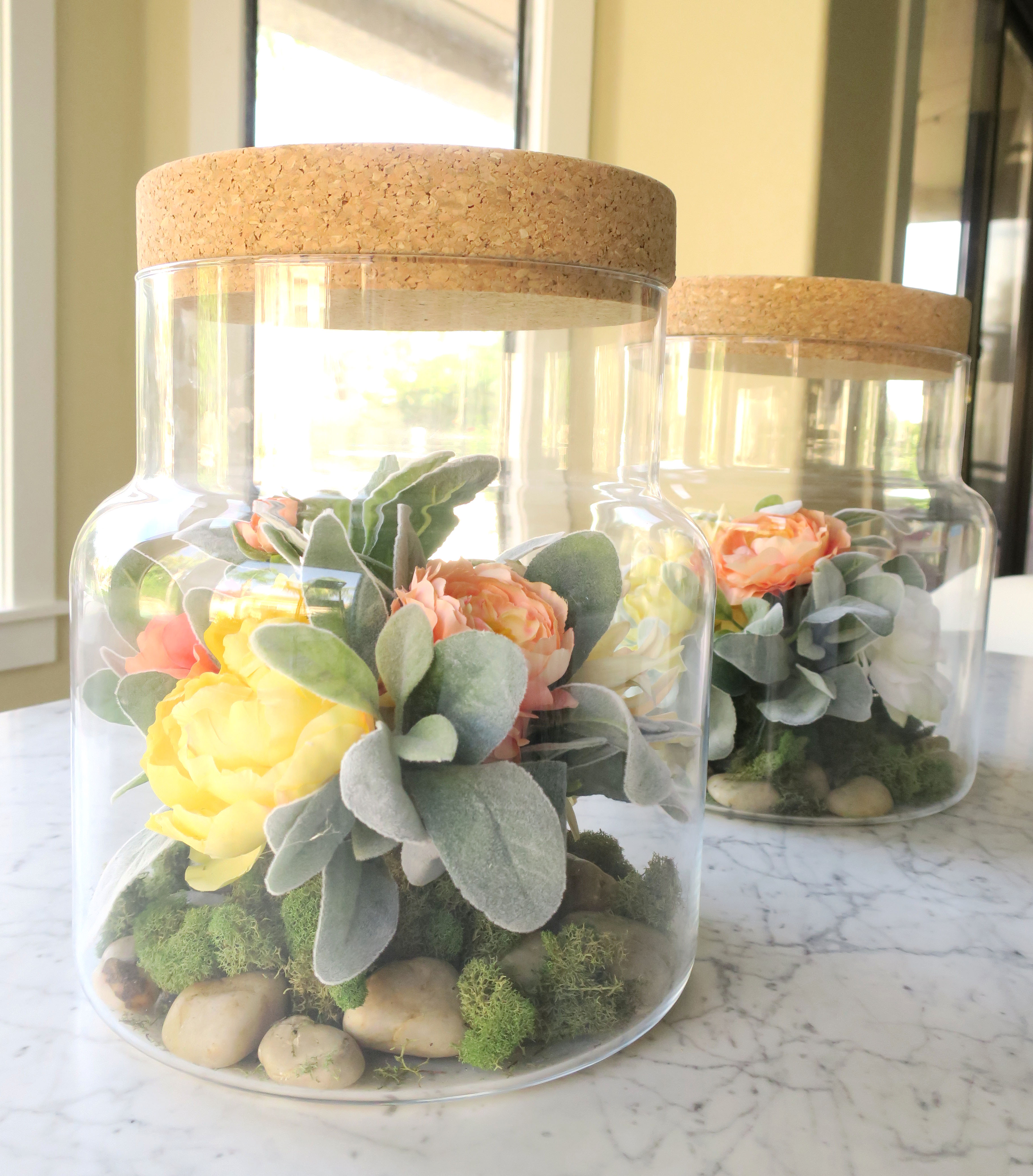 Diy Floral Terrarium J J Design Group