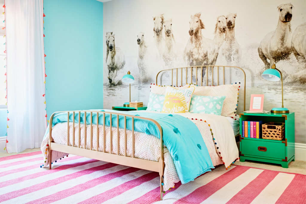 Horse Inspired Girl's Room: Equestrian In Training