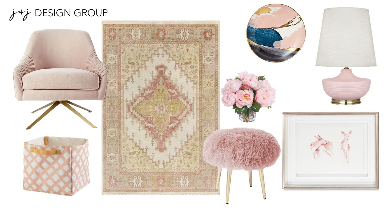 blush design board
