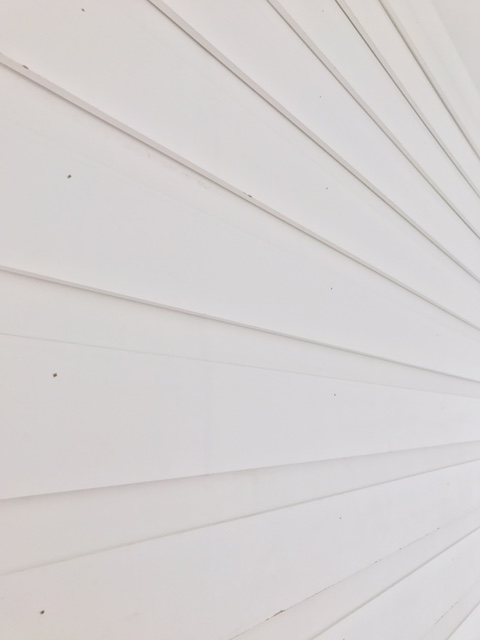 One Room Challenge Baseboard detail on walls